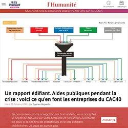 13 oct. 2020 - Un rapport édifiant. Aides publiques pendant la crise : voici ce qu'en font les entreprises du CAC40
