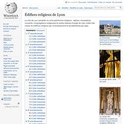 Édifices religieux de Lyon