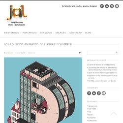 Los edificios animados de Florian Schommer