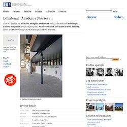 Edinburgh Academy Nursery by Richard Murphy Architects