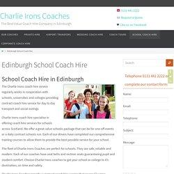 Edinburgh School Coach Hire