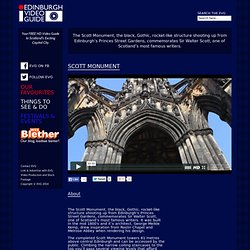 The Scott Monument, Edinburgh > EdinburghVideoGuide.com