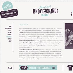 Edinburgh « Edinburgh Lindy Exchange