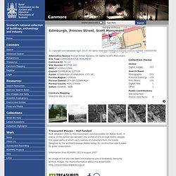 Princes Street, Scott Monument Princes Street Gardens; Sir Walter Scott's MonumentDetails Details