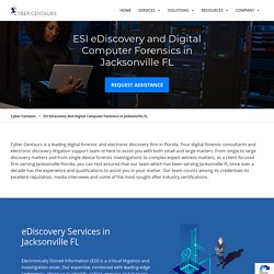 Digital Computer Forensics, eDiscovery, ESI Collection