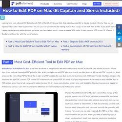 edit pdf file mac