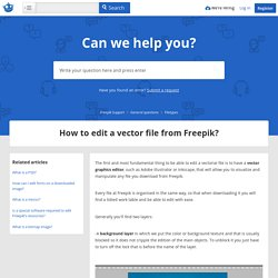 How to edit a vector file from Freepik? – Freepik Support