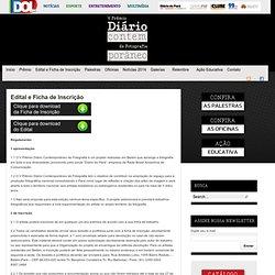 Edital e Ficha de Inscrição
