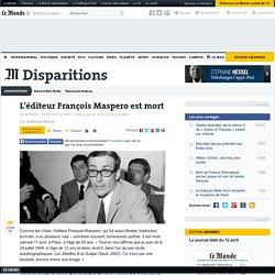 François Maspero est mort