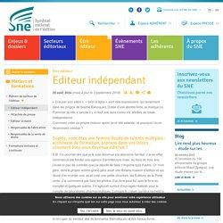 Editeur indépendant