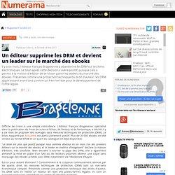 Un éditeur supprime les DRM et devient un leader sur le marché des ebooks