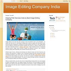 Image Editing Company India: Clipping Path Services India by Best Image Editing Company