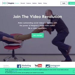 magisto - make your videos worth sharing in a single click!