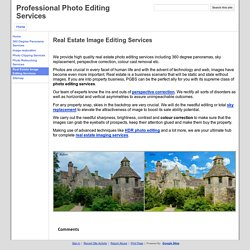 Real Estate Image Editing Services - Professional Photo Editing Services