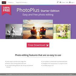 PhotoPlus – Free Image & Photo Editing Software Download