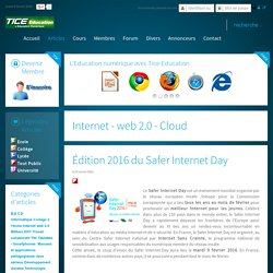 Édition 2016 du Safer Internet Day