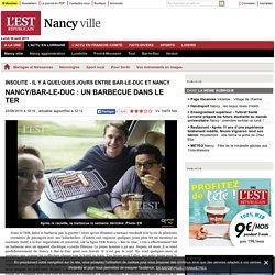 Nancy/Bar-le-Duc : un barbecue dans le TER - L'Est Républicain