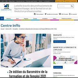 2e édition du Baromètre de la formation et de l'emploi 2021 (Centre Inffo / CSA)