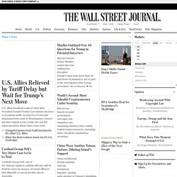 Asia Edition - Wall Street Journal - Latest News, Breaking Stories, Top Headlines - WSJ.com