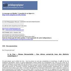 EDITION CDI DOCUMENTATION
