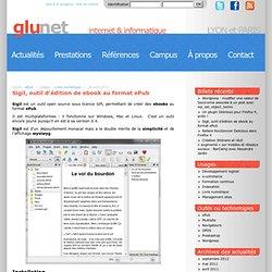 Sigil, outil d'édition de ebook au format ePub