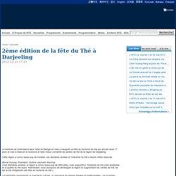 2ème édition de la fête du Thé à Darjeeling