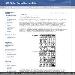 BTS Edition-fabrication en édition : Archives
