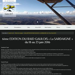 6ème EDITION DU RAID GAULOIS « La SARDAIGNE » du 18 au 25 juin 2016 - APATAM