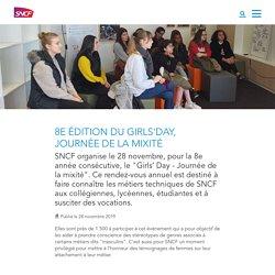 8e édition du Girls'day, journée de la mixité