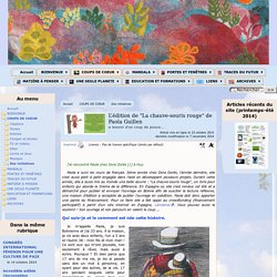 """L'édition de """"La chauve-souris rouge"""" de Paola Guillen"""