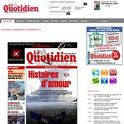 L'Edition du jour du Quotidien de la Réunion - 974