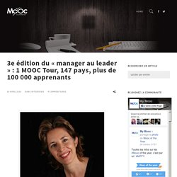 3e édition du « manager au leader », Interview de Cécile Dejoux