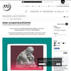 Edition numérique de livres d'art : Rodin : l'e-album de l'exposition