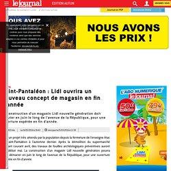 Saint-Pantaléon : Lidl ouvrira un nouveau concept de magasin en fin d'année