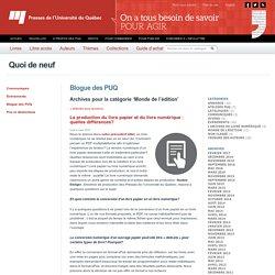 Presses de l'Université du Québec - Edition numérique