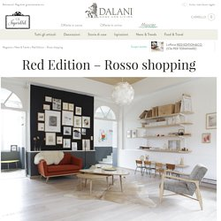 Red Edition – Rosso shopping