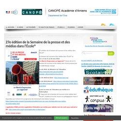 27e édition de la Semaine de la presse et des médias dans l'École®