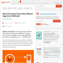 How To Create Your First iPhone Application - Smashing Coding