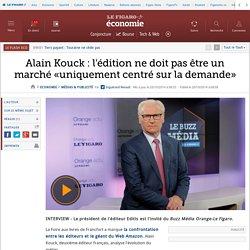 Alain Kouck: l'édition ne doit pas être un marché «uniquement centré sur la demande»