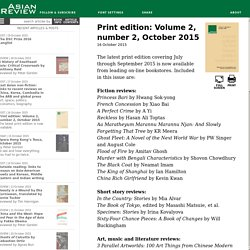 Print edition: Volume 2, number 2, October 2015 [Asian Review of Books]