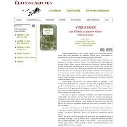 ÉDITIONS ARFUYEN - LES CHANTS DU PAUVRE YUNUS