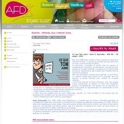 AFD Editions - Autisme - Asperger - Troubles du spectre autistique - TED
