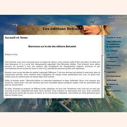 Les éditions Belcastel - Accueil et News