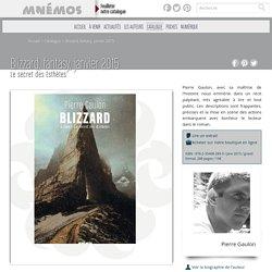 Les éditions Mnémos - Blizzard, fantasy, janvier 2015