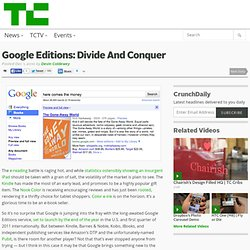 [2010] Google Editions: Divide And Conquer