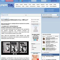 Les éditions Delcourt et La «BD 2.0″