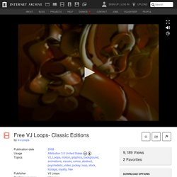 Free VJ Loops- Classic Editions : VJ Loops