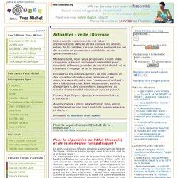 Le blog des éditions Yves Michel