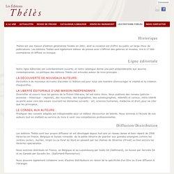 Editions Thélès - maison d'édition indépendante