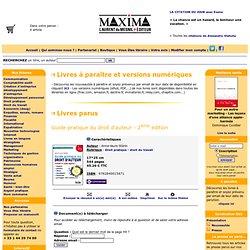 Guide pratique du droit d'auteur